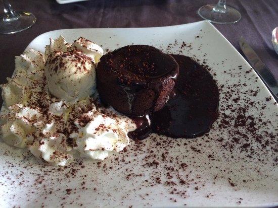 Chez Freddy: Fondant au chocolat excellent