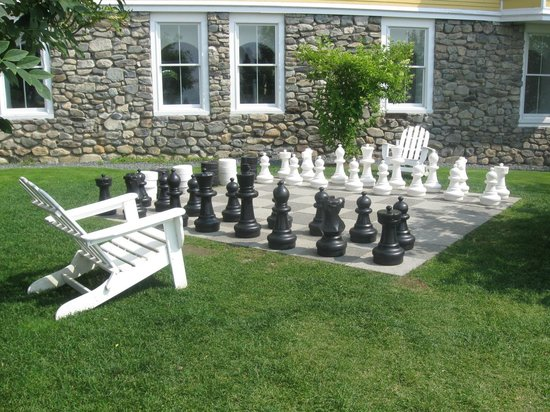 Mountain View Grand Resort & Spa : The outdoor chessboard