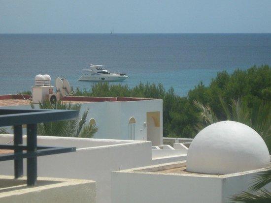Hipotels Bahia Grande: vue sur la mer depuis ma terrasse