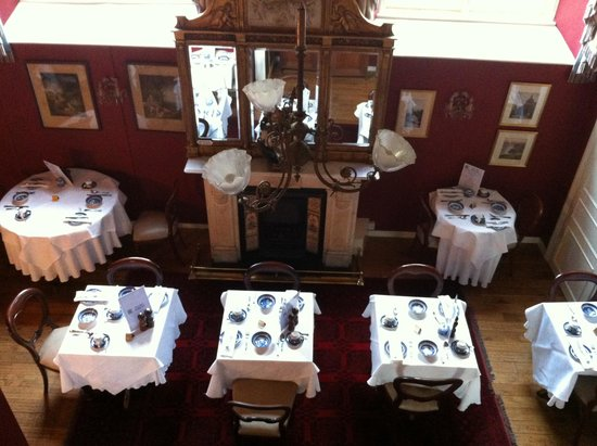 Jeake's House: Breakfast room