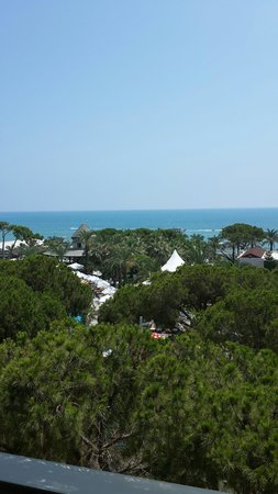 Papillon Ayscha Hotel Resort & Spa : Room 345 Sahile bakış