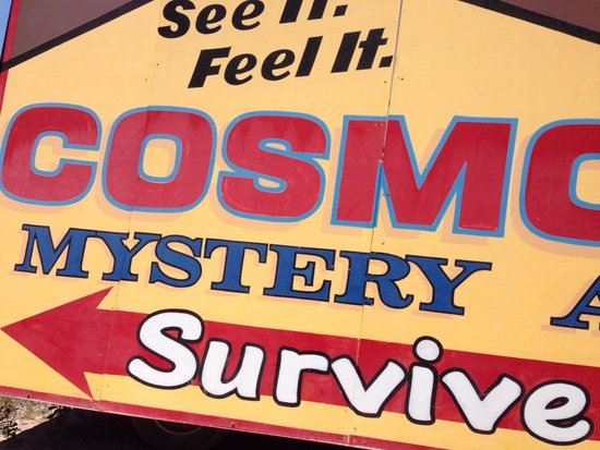 Cosmos Mystery Area : Survived it