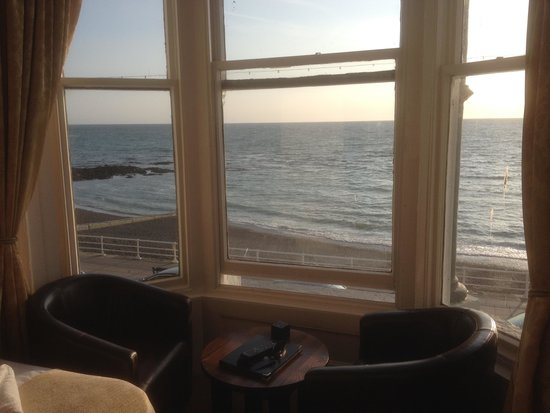 The Glengower: View from our room
