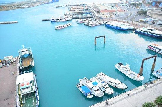 Hotel East China Sea: 離島ターミナル側の眺め 海の色が最高