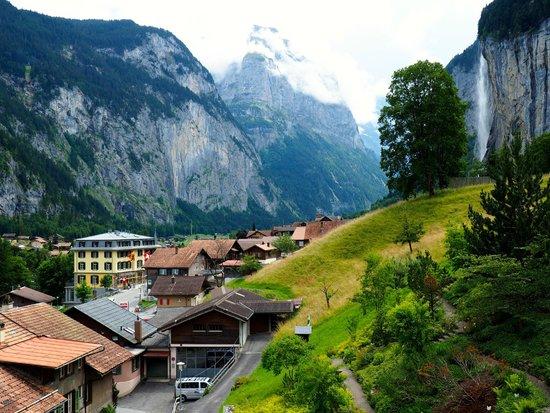 Hotel Silberhorn: View