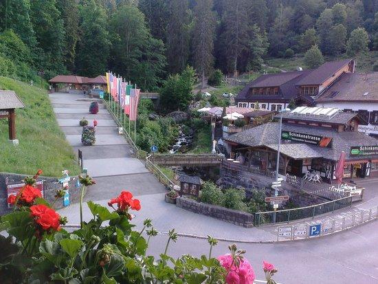 Hotel Restaurant Pfaff: View from balcony