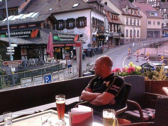 Hotel Restaurant Pfaff: Terrace