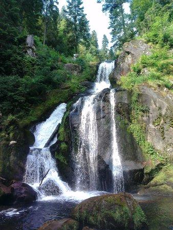 Hotel Restaurant Pfaff: One of the waterfalls