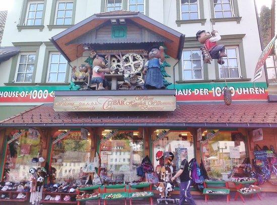 Hotel Restaurant Pfaff: House of 1000 clocks