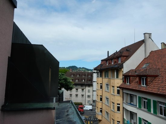Hotel Rothaus: View opposite direction