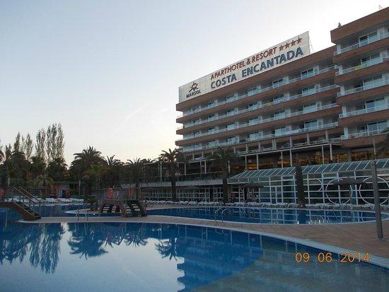 Aparthotel Costa Encantada: Вид на отель