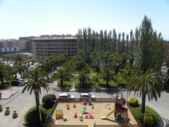 Aparthotel Costa Encantada: Вид из номера