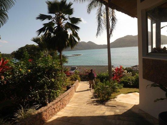 Chalets Cote Mer: reception