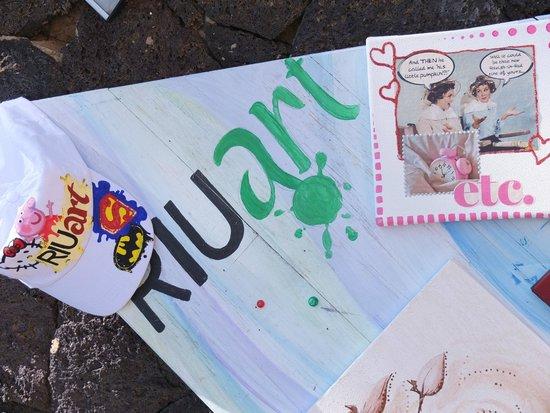 ClubHotel Riu Paraiso Lanzarote Resort: super sprawa dla dzieci ,które lubia malować :)