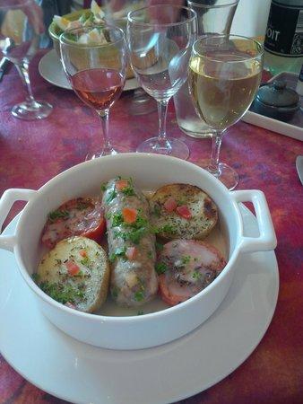 Restaurant La Cassolette : Andouillette maconnaise
