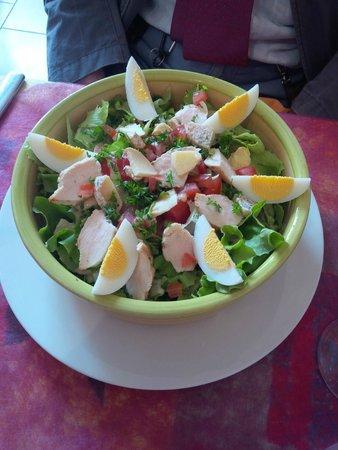 Restaurant La Cassolette : Salade beaujolaise