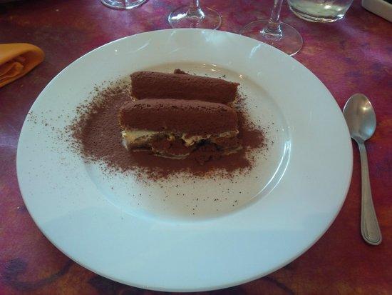 Restaurant La Cassolette : Le tiramisu maison