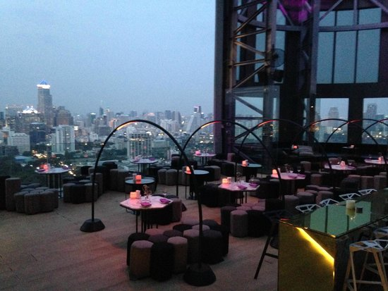 SO Sofitel Bangkok: Sky bar