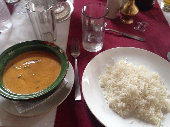Yin Yang Restaurant : Cuscus whit beef