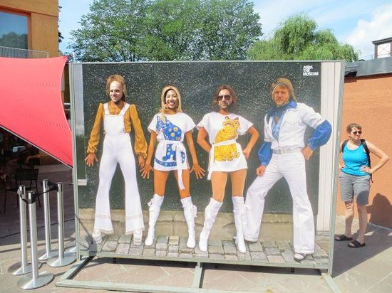ABBA The Museum: The Inevitable Shot.