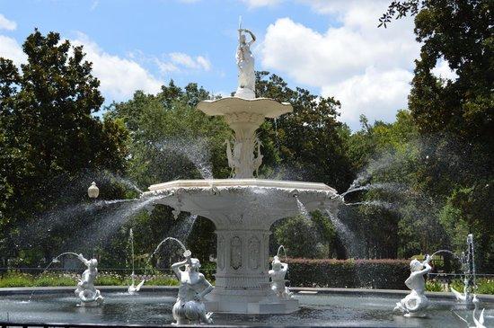 Parc Forsyth : The fountain