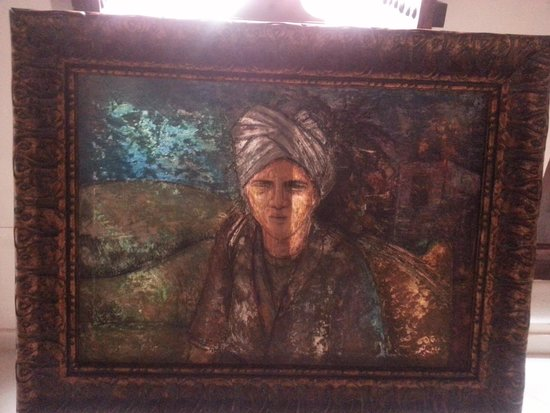 Ahmedia Heritage Guest House : Beautiful Art In The Hotel Gallery