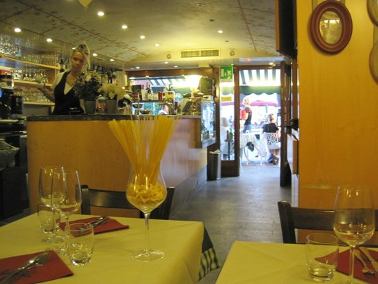 Pontini : View from table, facing front of restaurant