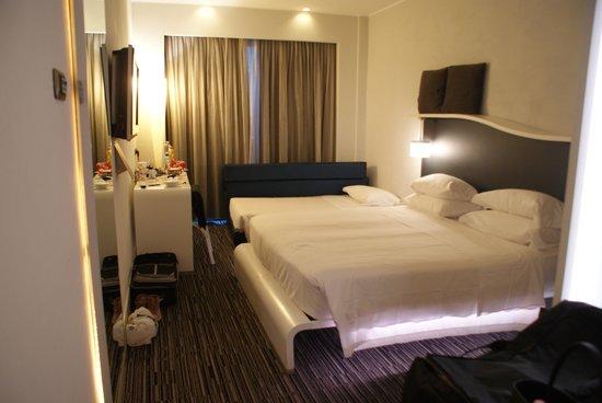 BEST WESTERN Premier Hotel Royal Santina: La chambre 101...