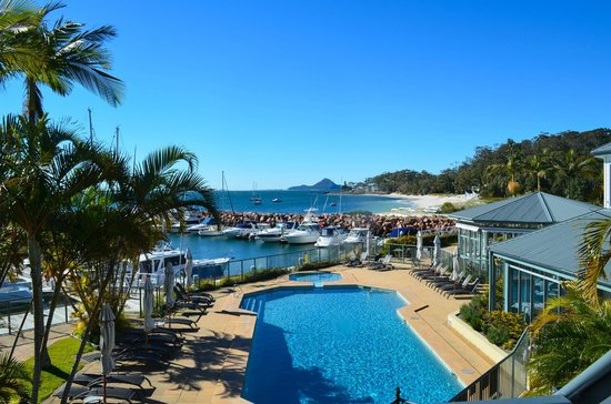 Anchorage Port Stephens: View from room balcony