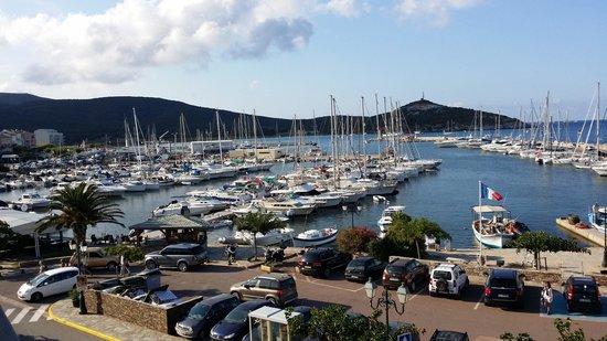 Hotel Marina d'Oro : vue du port Macinaggio,de l'hôtel Marina d'Oru Haute Corse