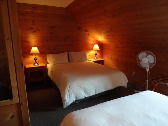 Hotel Sacacomie: Chambre (2e lit double)