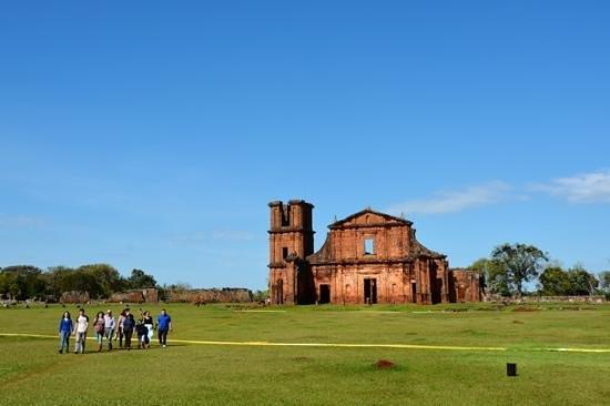 Ruins of Sao Miguel das Missoes: Aspecto geral da Igreja.