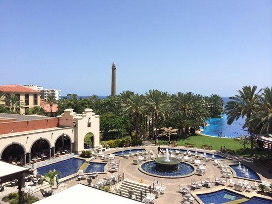 Lopesan Costa Meloneras Resort, Spa & Casino : Vistas desde la Habitación  4 planta