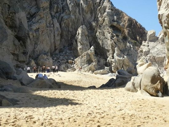 El Arco de Cabo San Lucas : Lovers Beach