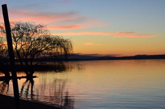 Hotel Del Lago Golf & Art Resort: Pôr do sol