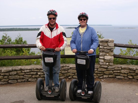Glide N.E.W. LLC - Segway the Door Tours: Our first Segway tour