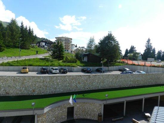 Le Blanc Hotel & Spa : widok z pokoju od strony parkingu
