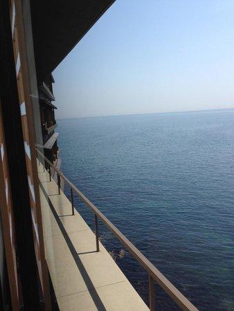 Nagisa no Sho Hanagoyomi: Ocean view from room