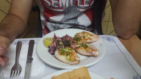 Can Mano: calamari