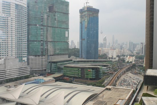 Aloft Kuala Lumpur Sentral: View from the room