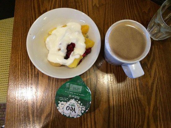 Premier Inn London Stratford Hotel: Selection from healthy breakfast buffet