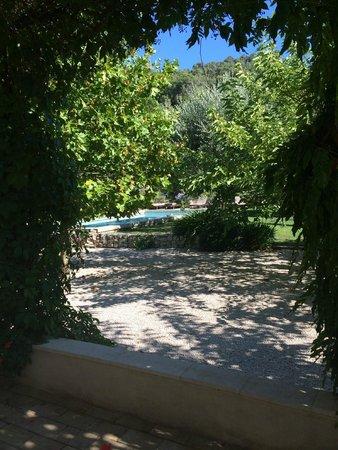 Mas des Pascaux: View from house