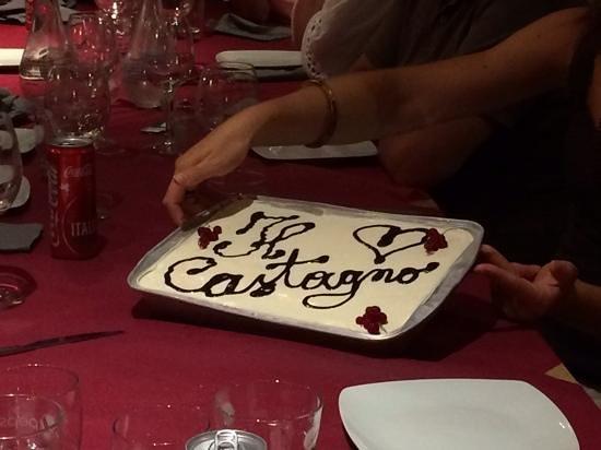 Residence Il Castagno Toscana: cheese cake di mamma Virginia