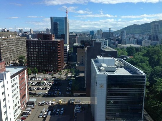 Keio Plaza Hotel Sapporo: View from room