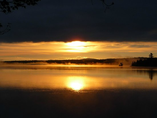 Adirondack Park: Sunrise from a campsite