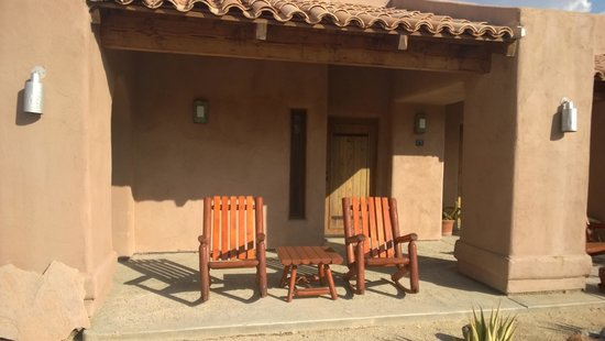 Borrego Valley Inn: Our room from the outside
