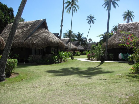 Sofitel Moorea Ia Ora Beach Resort : bungalow interni