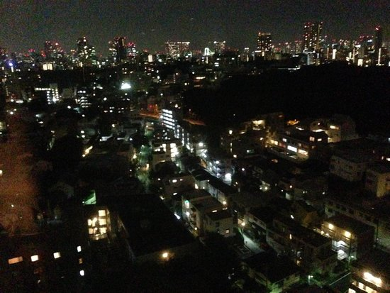 The Westin Tokyo: 窓からの夜景