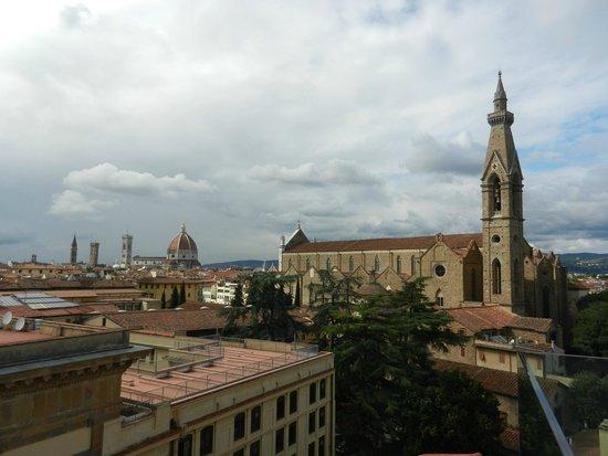 Plaza Lucchesi Hotel : Vue du toit terrasse / piscine