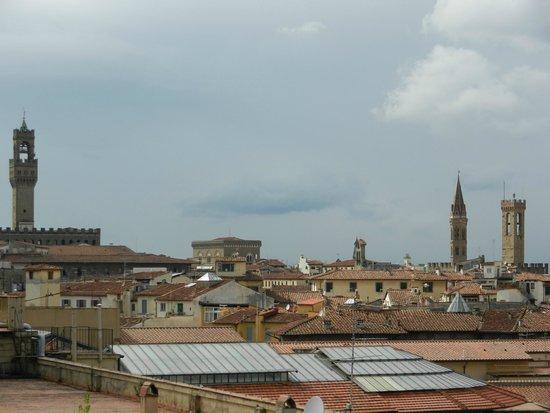 Plaza Lucchesi Hotel: Vue du toit terrasse / piscine